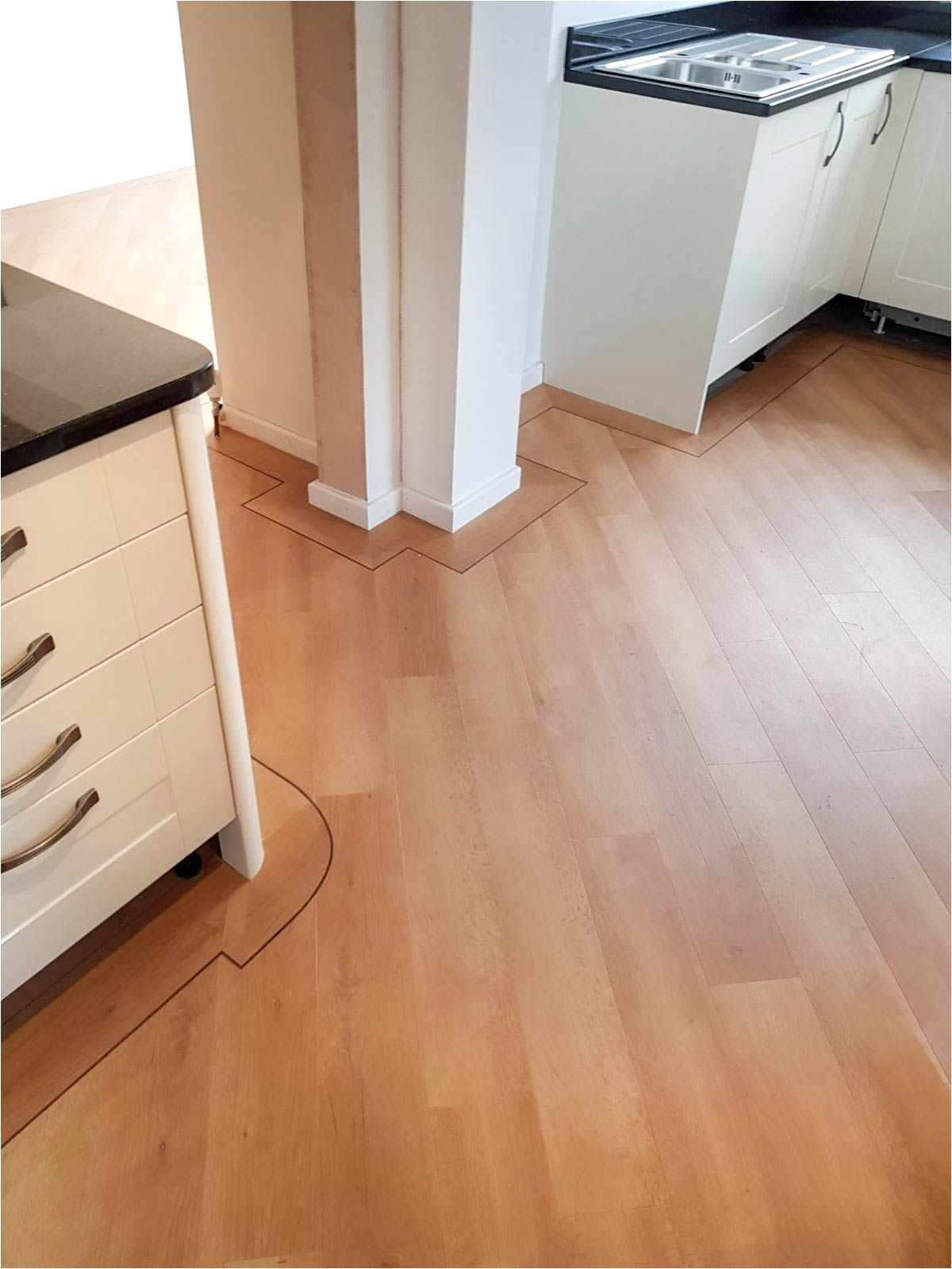 Laying Grip Strip Flooring Kitchen Vinyl Flooring Karndean Design Flooring Opus Wp314 Cera