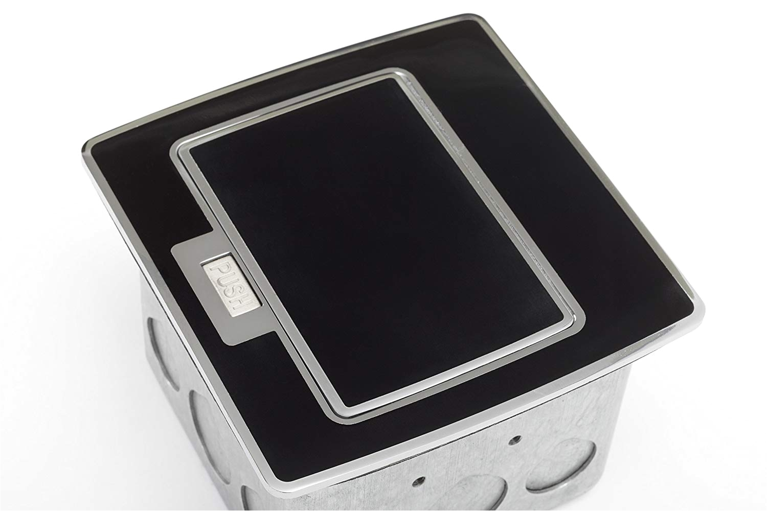 Lew Floor Receptacles Lew Electric Pufp Ct Bk 2usb Pop Up Counter top Plate with 15 Amp
