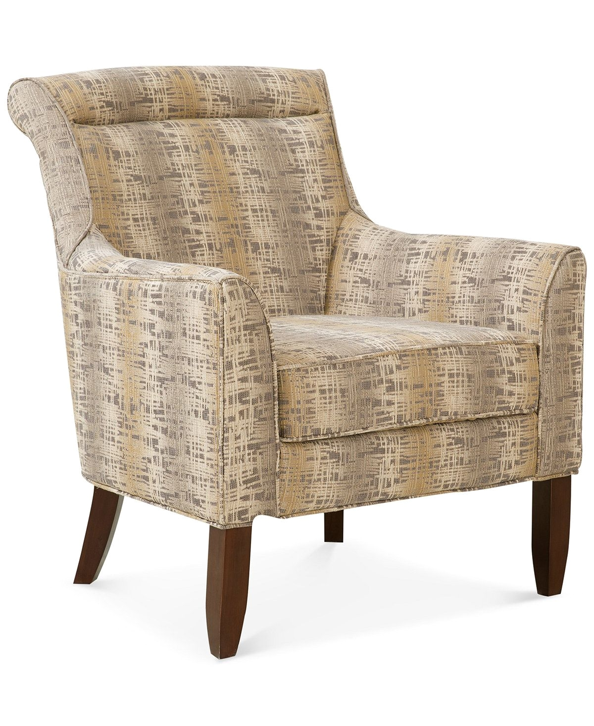 Admirable Macys Leather Club Chair Kannen Accent Chair Quick Ship Inzonedesignstudio Interior Chair Design Inzonedesignstudiocom