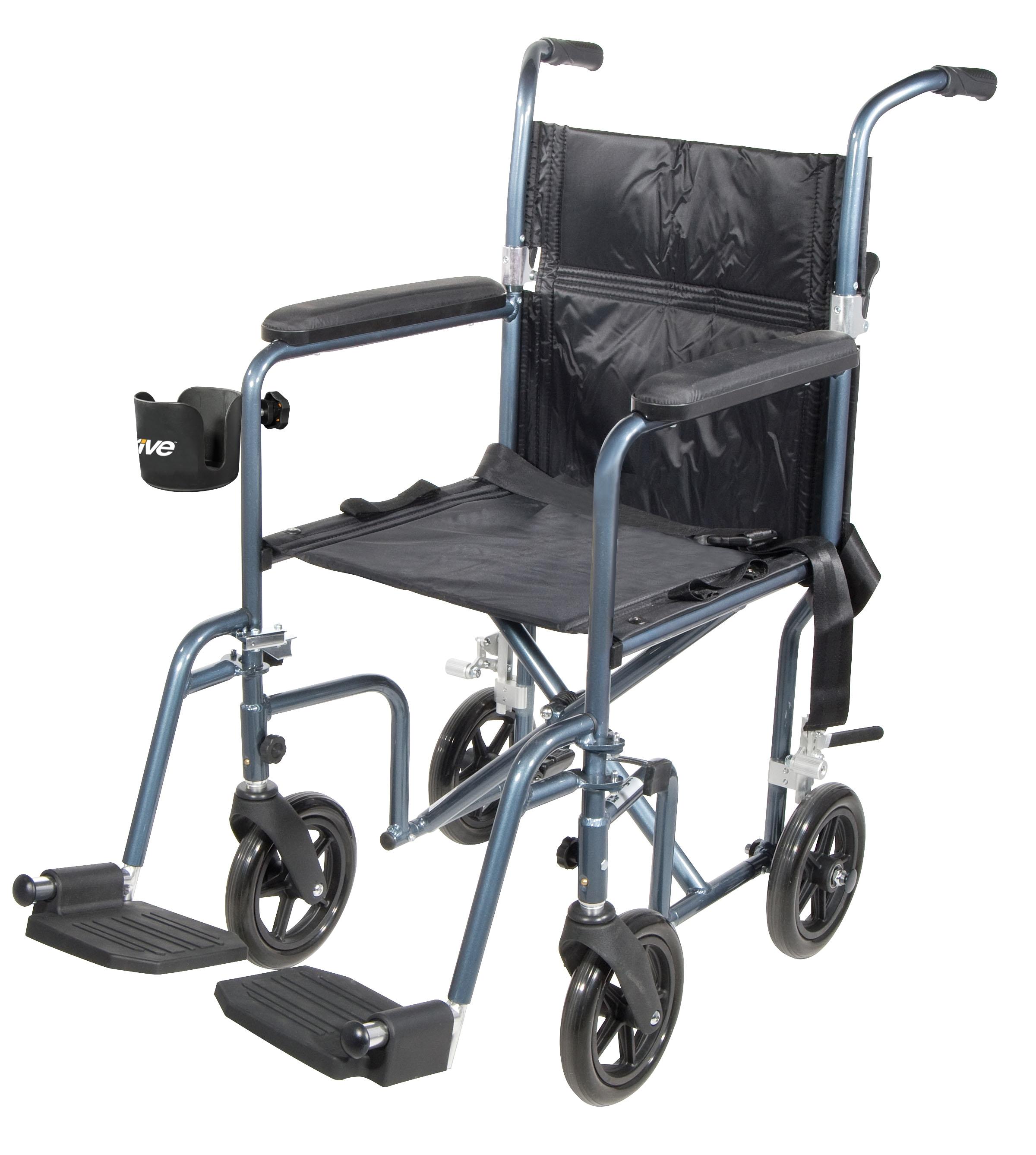 Medical Transport Chair Walmart Drive Medical Universal Cup Holder 3 Wide Walmart Com