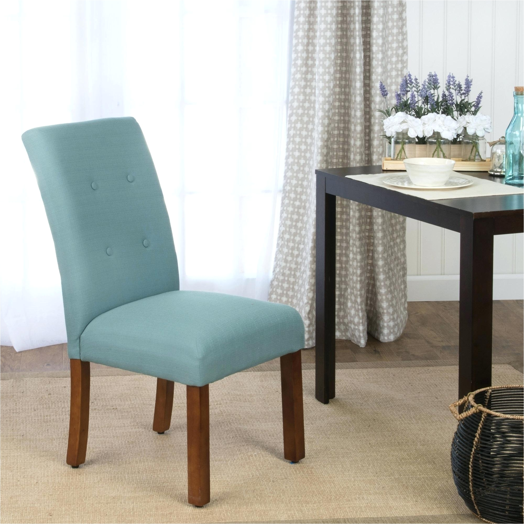 navy blue parsons dining chairs chair dining room blue and white