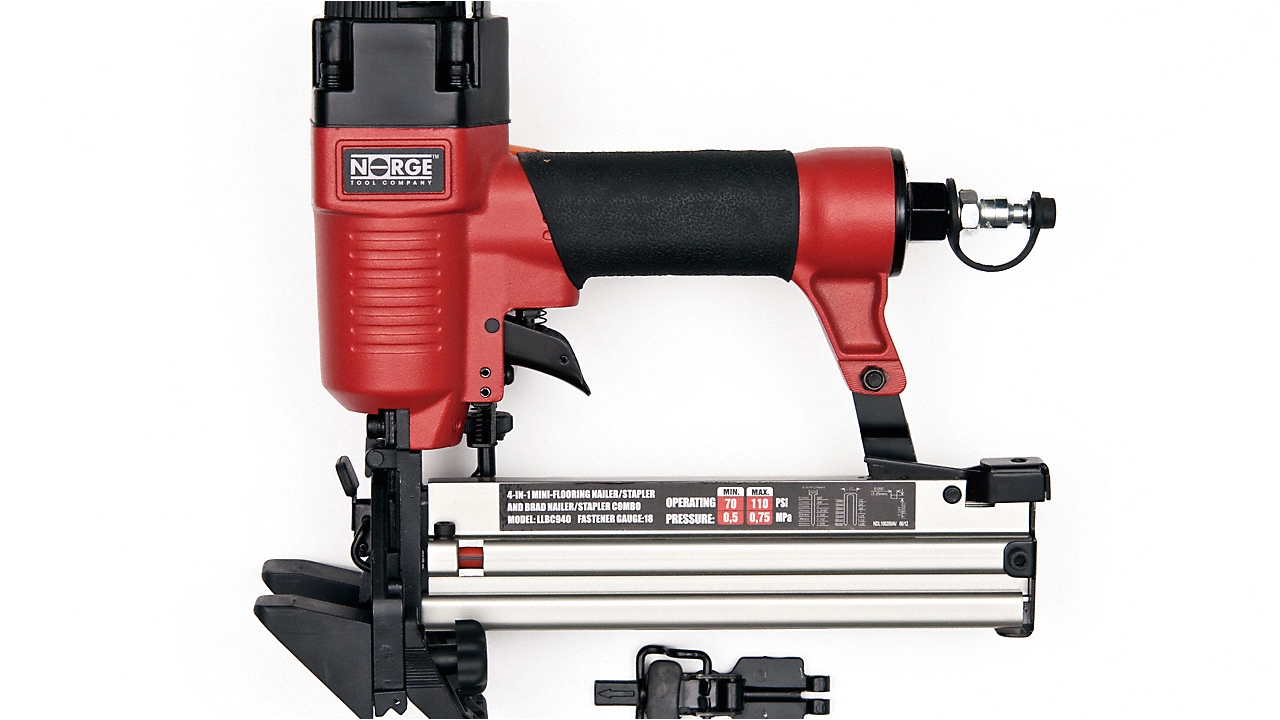 Norge Floor Nailer 18g 4 In 1 18g Air Nailer Stapler norge Lumber Liquidators