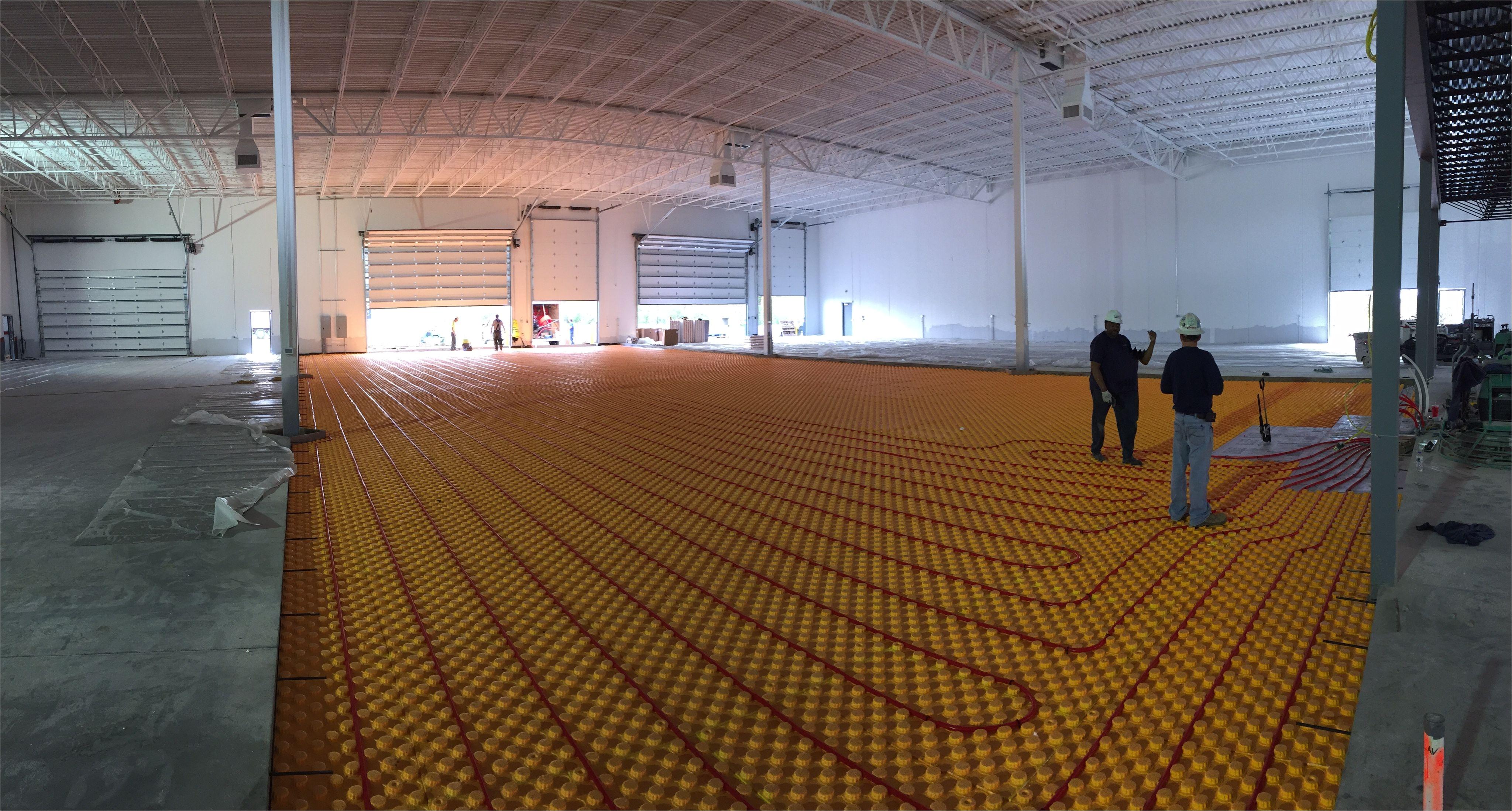Over Floor Radiant Heat Panels Creatherm Radiant Floor Heating Panels for Slab On Grade