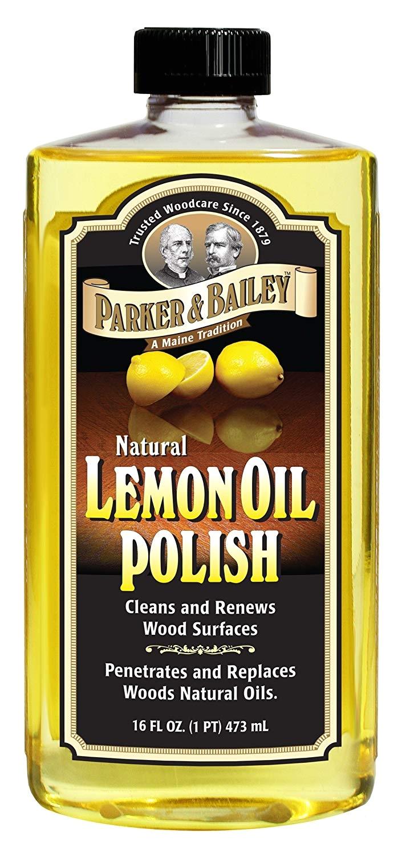 Parker and Bailey Wood Floor Cleaner Refill Amazon Com Parker Bailey Natural Lemon Oil Polish 16oz Home