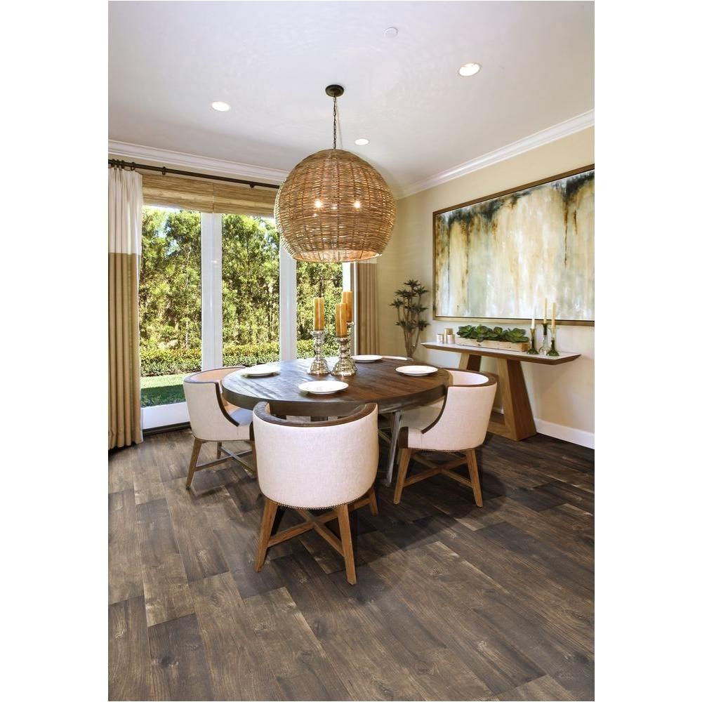 Porcelain Floor Tiles Ms International Dakota Clay 6 In X 36 In Glazed Porcelain Floor