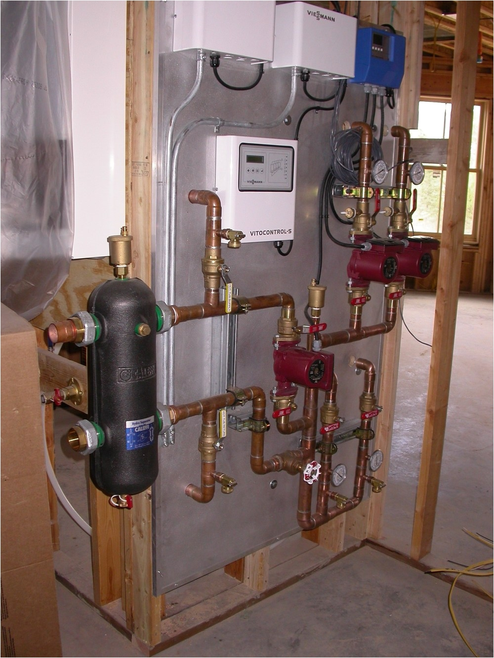 Propane Boiler for Radiant Floor Heat Custom Fabrication Radiant Design Supply Inc