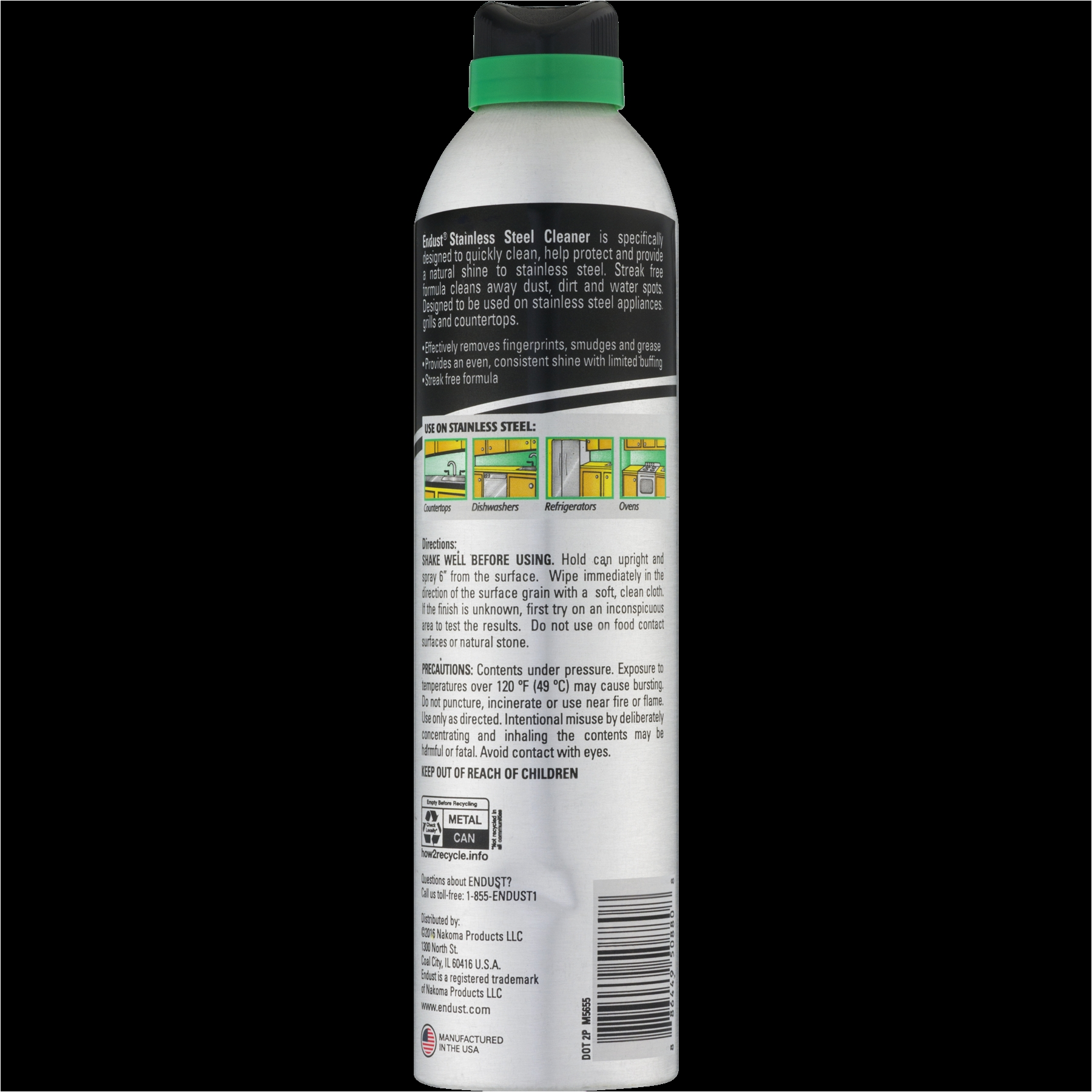 Quick Shine Floor Cleaner Walmart Endust Stainless Steel Cleaner 12 5 Oz Walmart Com