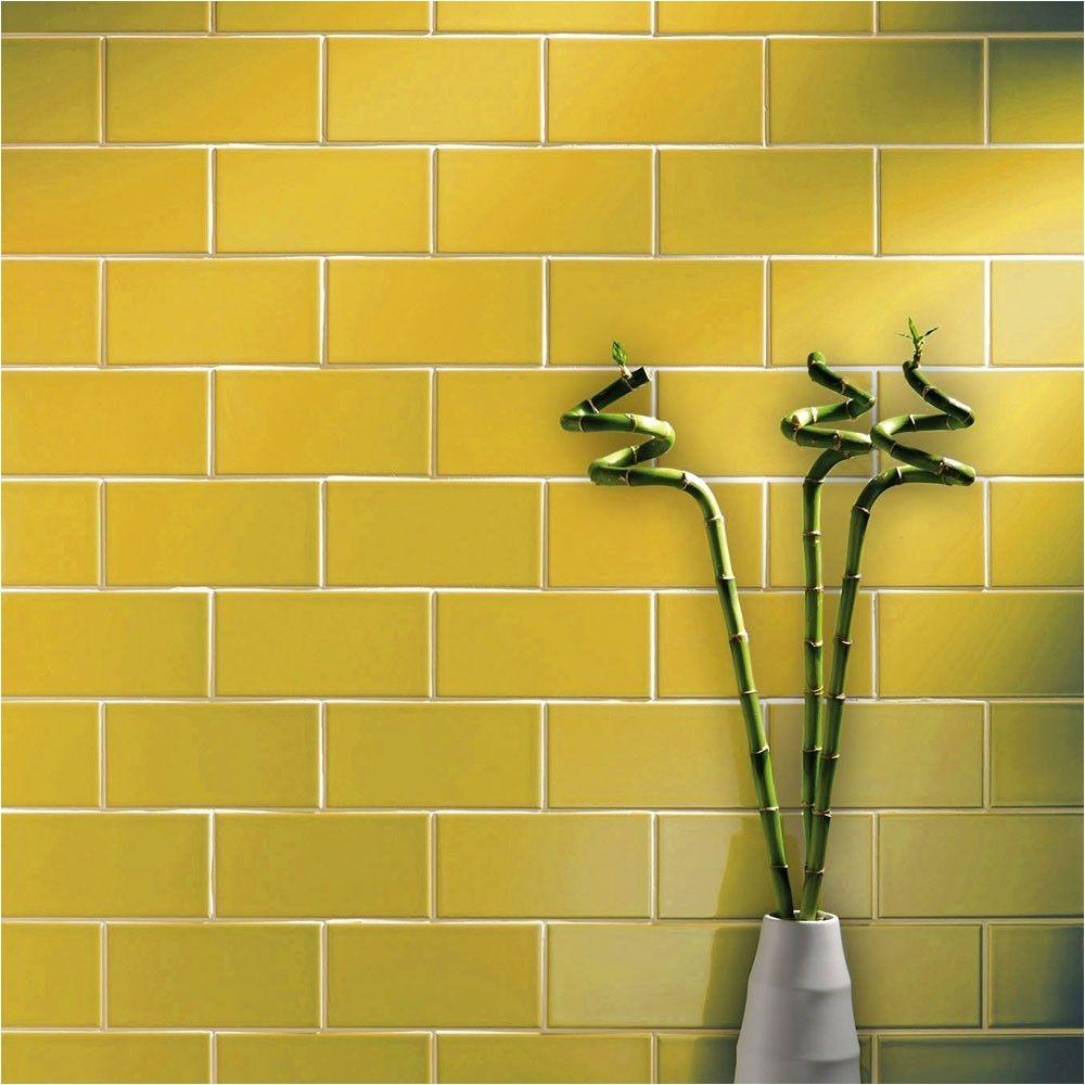 Raskin Flooring Nyc St James Smooth Gloss 200×100 Yellow Tiles Metro Smooth 200×100