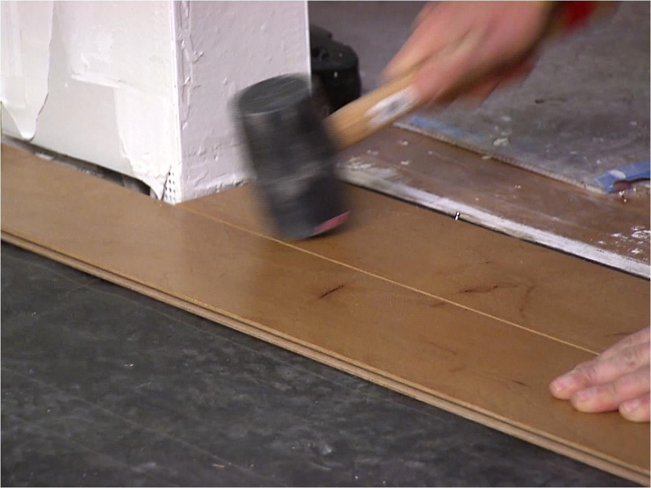 Removing Glue From Engineered Hardwood Floors How to Install An Engineered Hardwood Floor How tos Diy