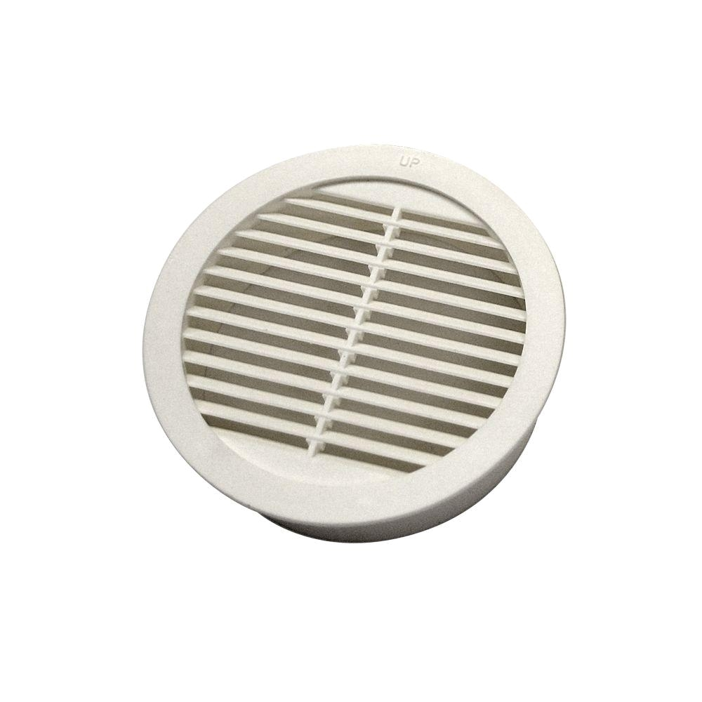 Round Floor Vent Covers Home Depot Master Flow 3 In Resin Circular Mini Wall Louver soffit Vent In
