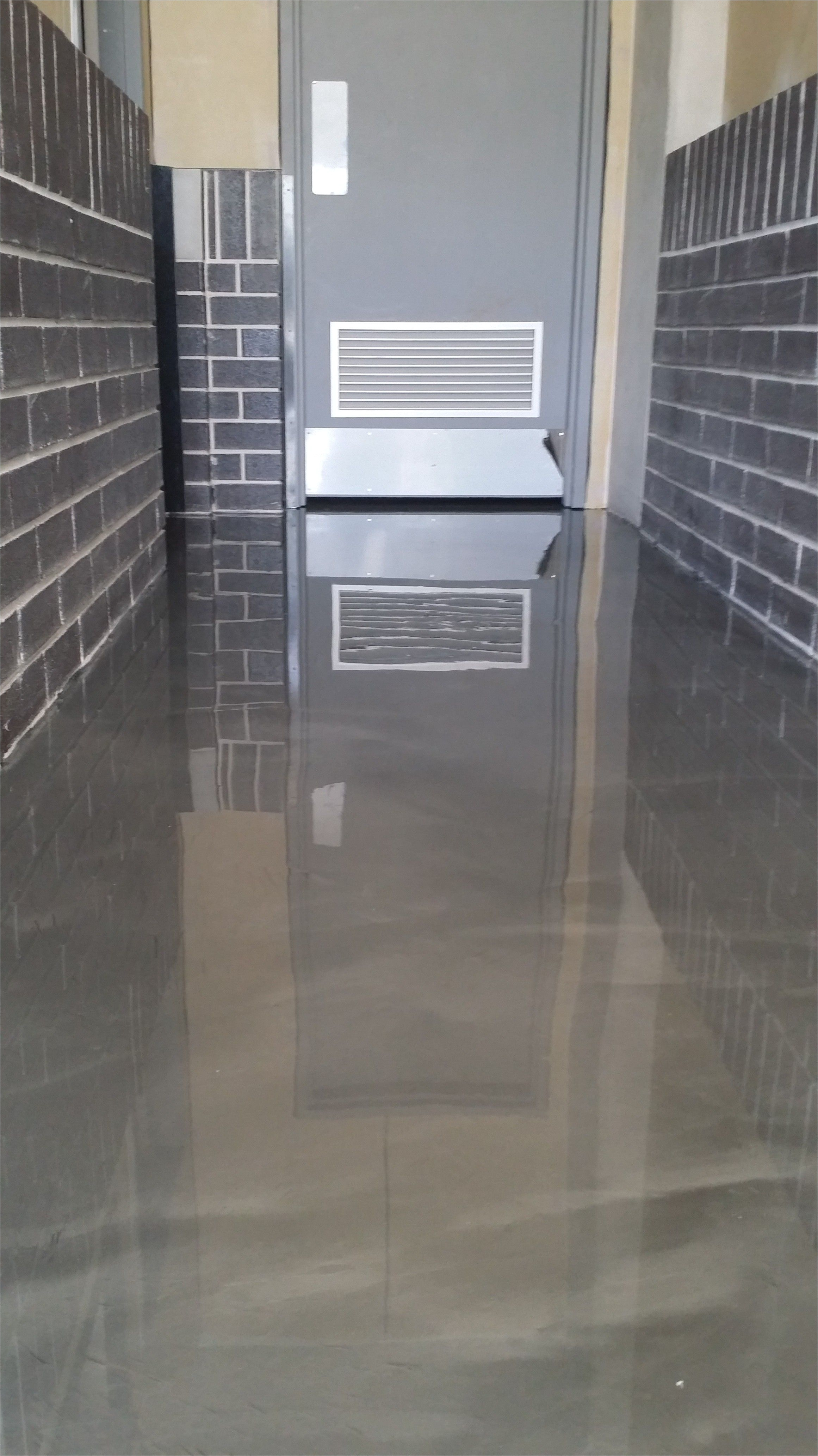 Sherwin Williams Epoxy Basement Floor Paint Childcare Centre toilet Entry area Projects Pinterest