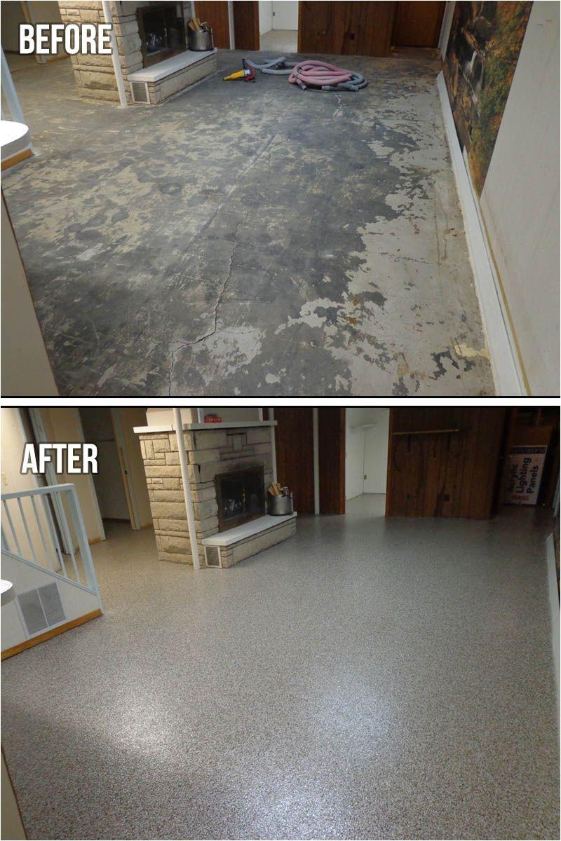 Sherwin Williams Epoxy Basement Floor Paint Metallic Marble Epoxy Basement Flooring In Russell Ohio Basement