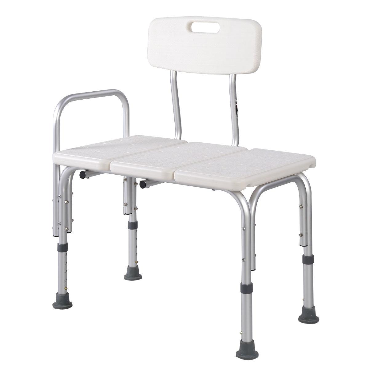 Shower Transfer Chair for Sale Goplus Shower Bath Seat Medical ...