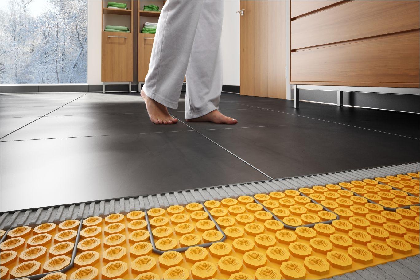 Sun touch Heated Floor Mats Schlutera Ditra Heat Floor Warming Schluter Com