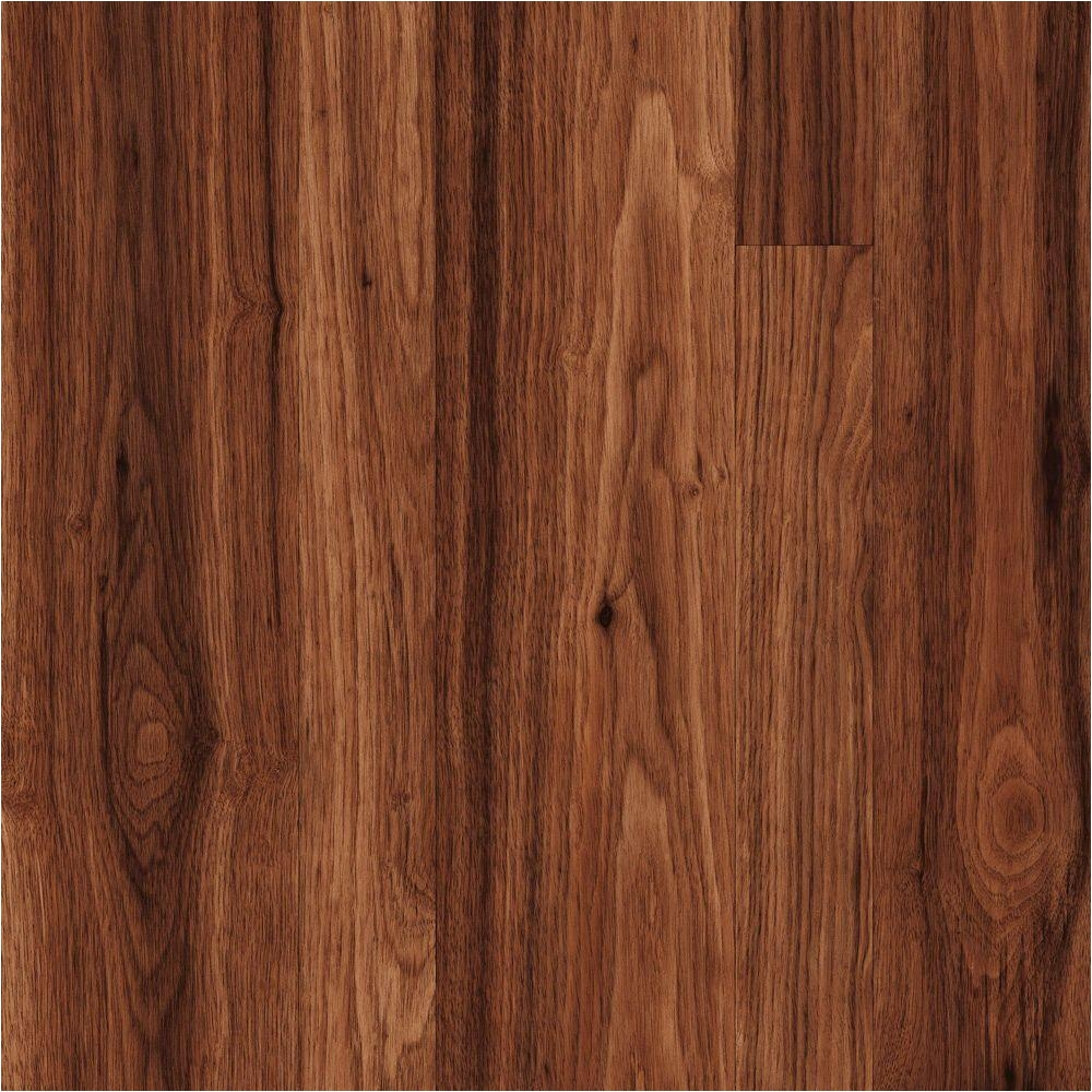 Trafficmaster Glueless Laminate Flooring Ainsley Oak Trafficmaster New Ellenton Hickory 7 Mm Thick X 7 9 16 In Wide X 50