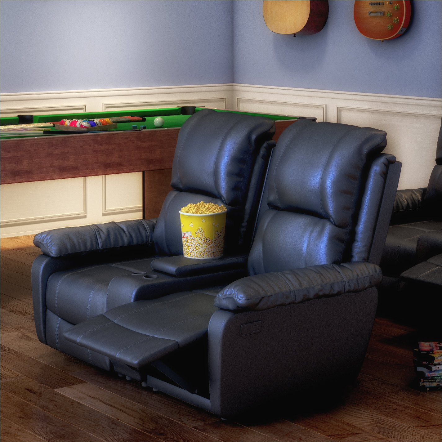 Used Movie theater Chairs for Sale Darby Home Co Sackville 2 Seat Home theater Loveseat Reviews Wayfair