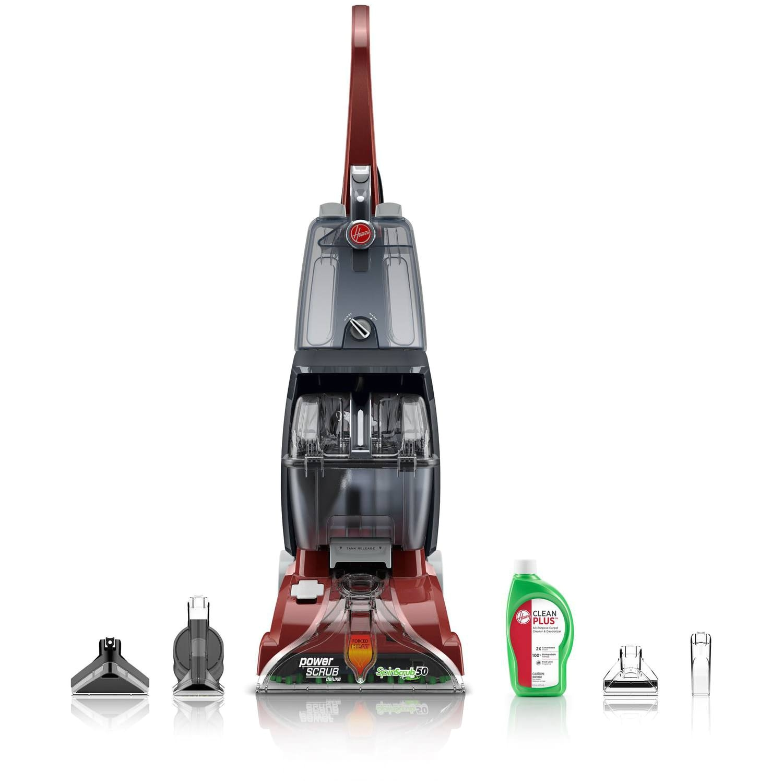 Walmart Steam Floor Mops Hoover Power Scrub Carpet Cleaner W Spinscrub Technology Fh50135