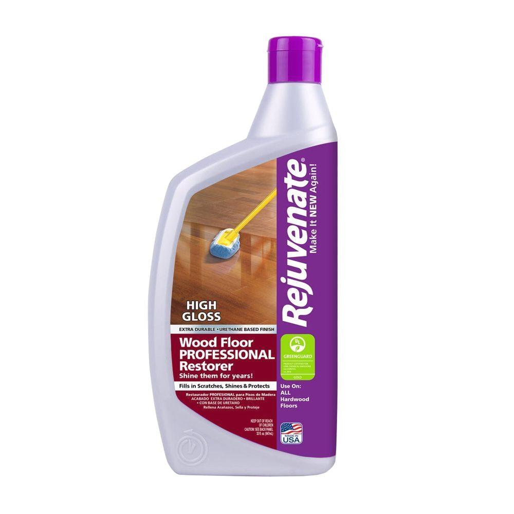 Weiman Hardwood Floor Cleaner Target Rejuvenate 32 Oz Professional High Gloss Wood Floor Restorer