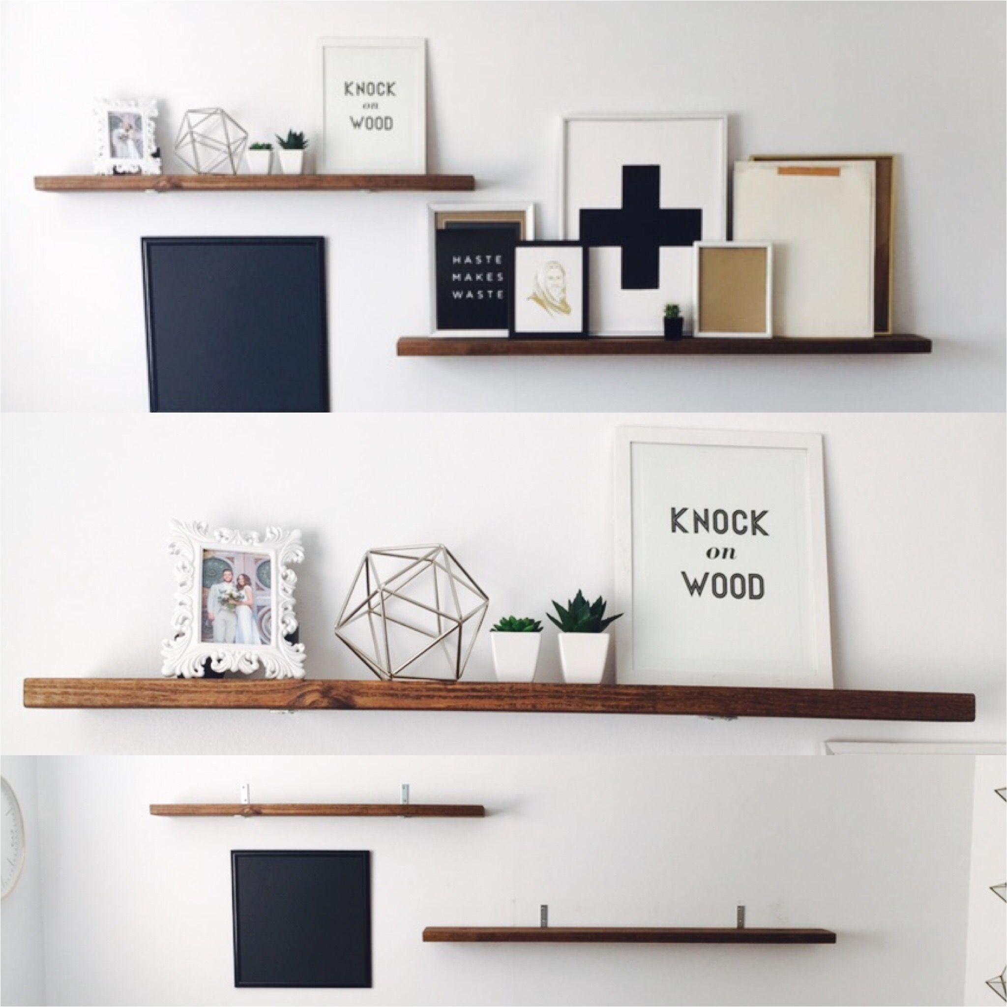 Wooden Floating Shelves Diy Faux Floating Shelves Under 40 Shelves Room Accessories and
