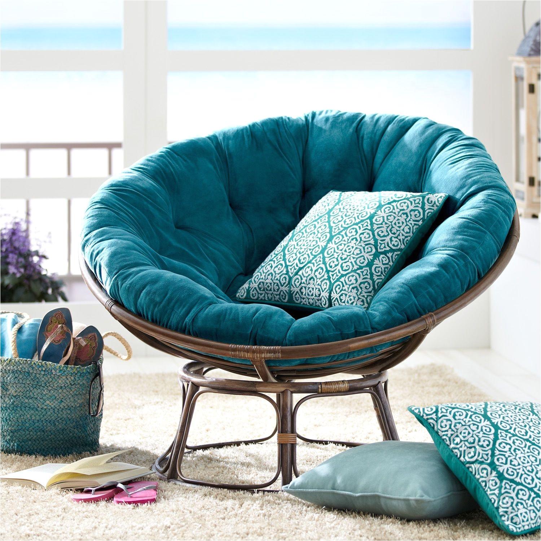 World Market Papasan Chair Outdoor Cushion Elegant Taupe Frame Pinterest