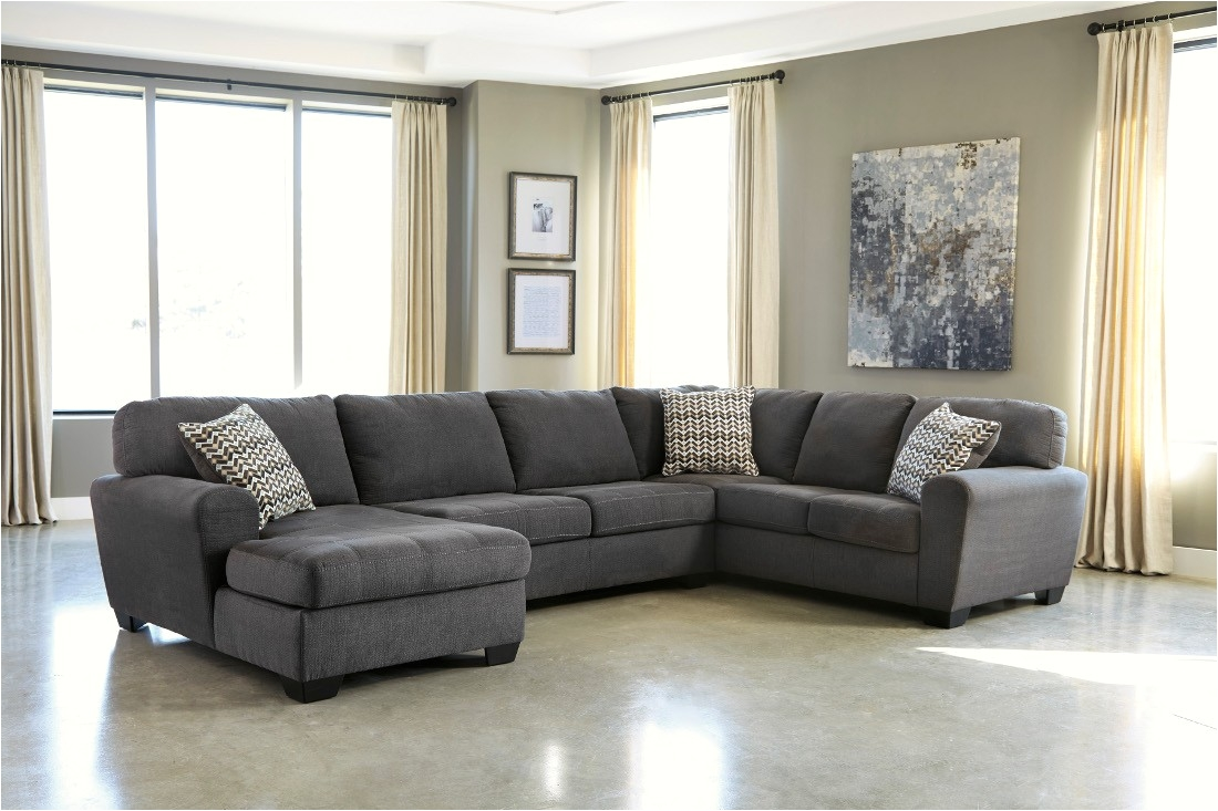 ashley furniture sorenton laf chaise sectional in slate