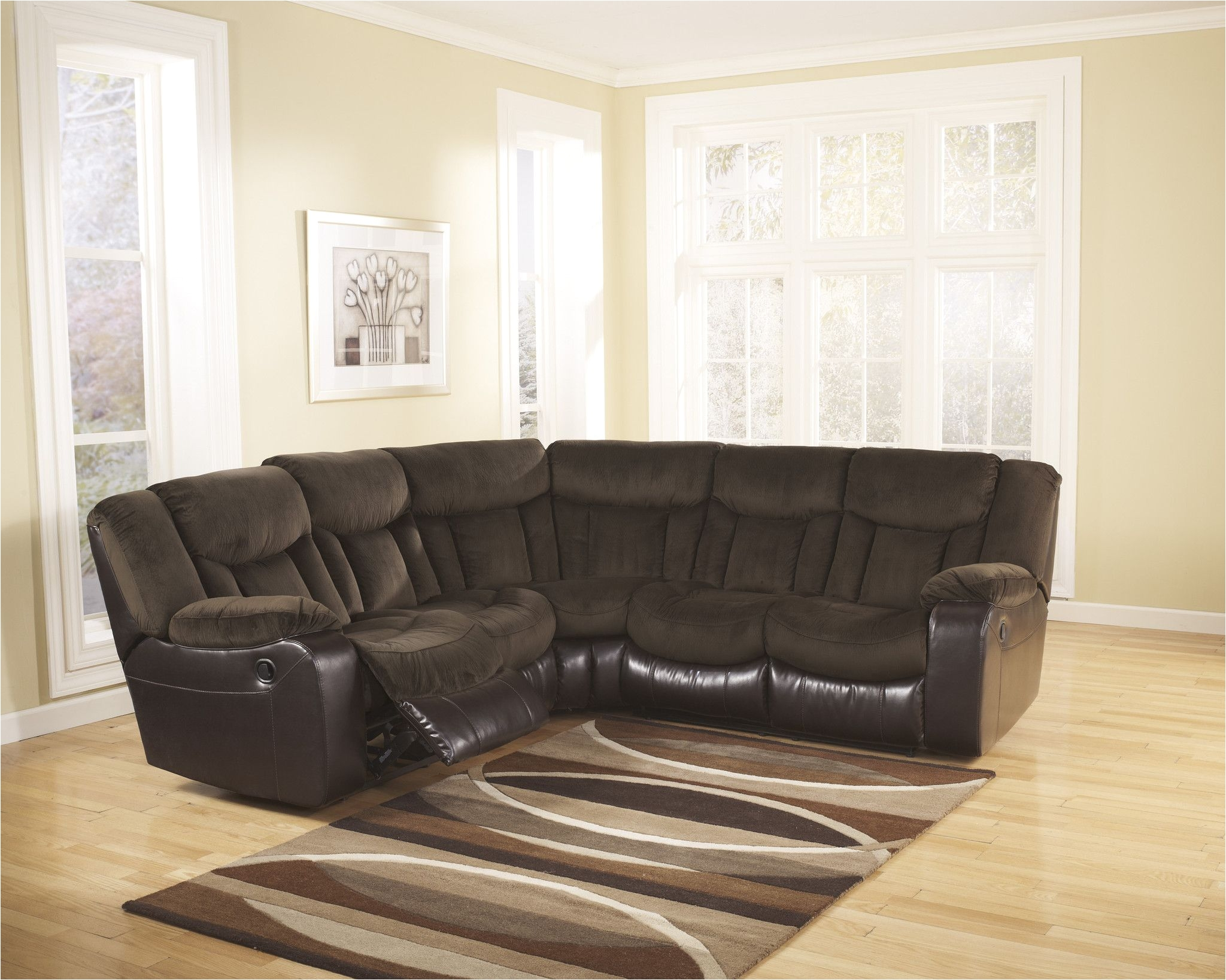 ashley furniture tafton reclining sectional 792024849
