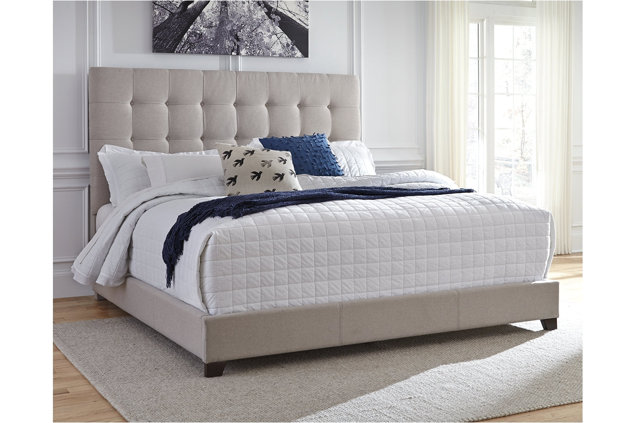 dolante king upholstered bed ashley furniture homestore