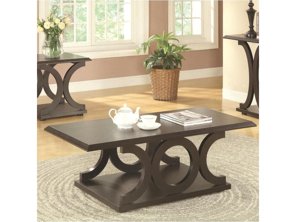 coaster 703140coffee table