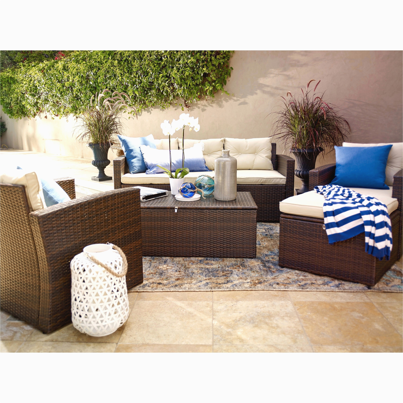 5 piece wicker patio set beautiful 5 piece wicker patio set elegant wicker outdoor sofa 0d