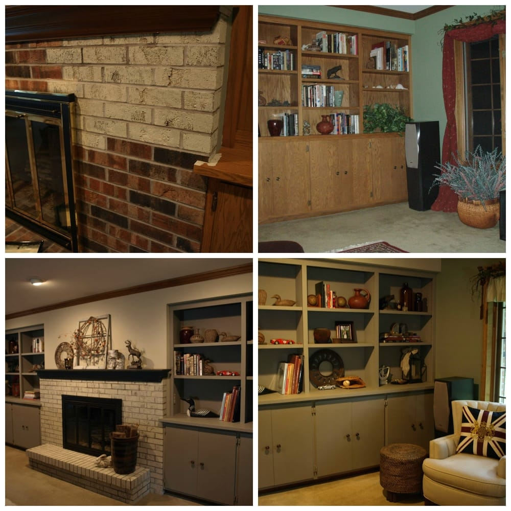 photo of studio 184 stoughton wi united states brick fireplace mantel