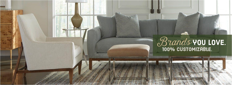 customizable furniture brands you love