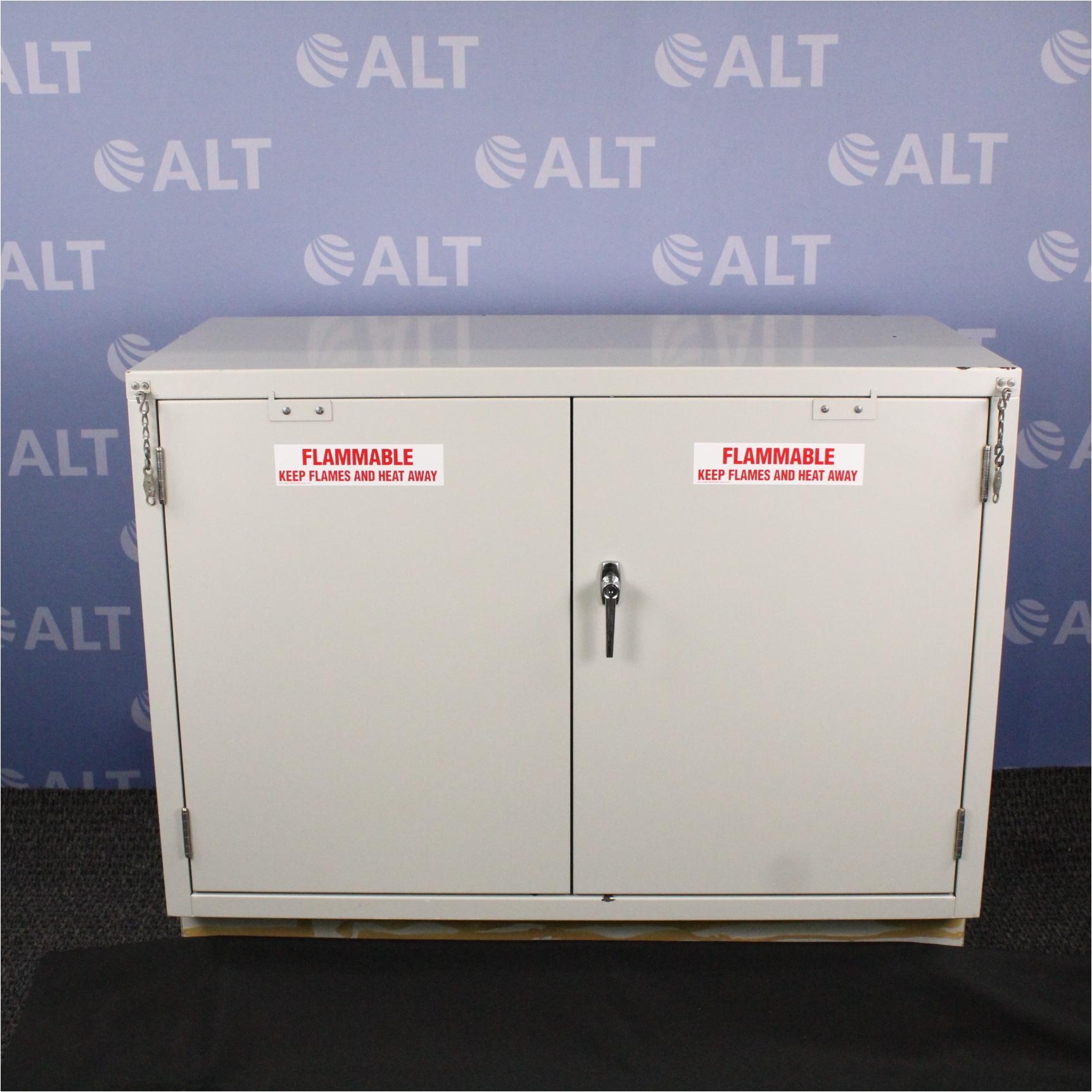 hanson lab furniture fsb47h 27 gallon flammable liquid storage cabinet image