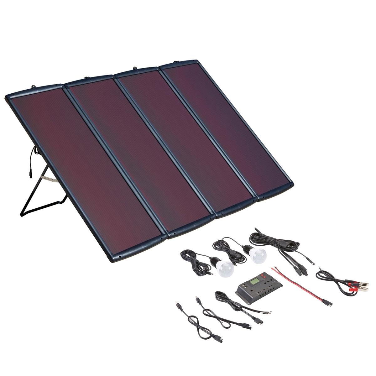 Harbor Freight Furniture 100 Watt solar Panel Kit