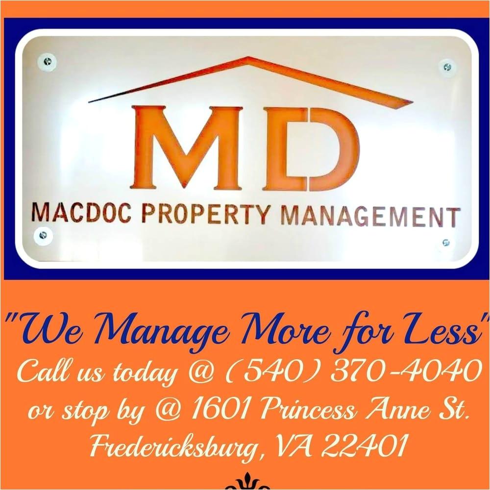macdoc property management property management 1810 stafford ave fredericksburg va phone number yelp
