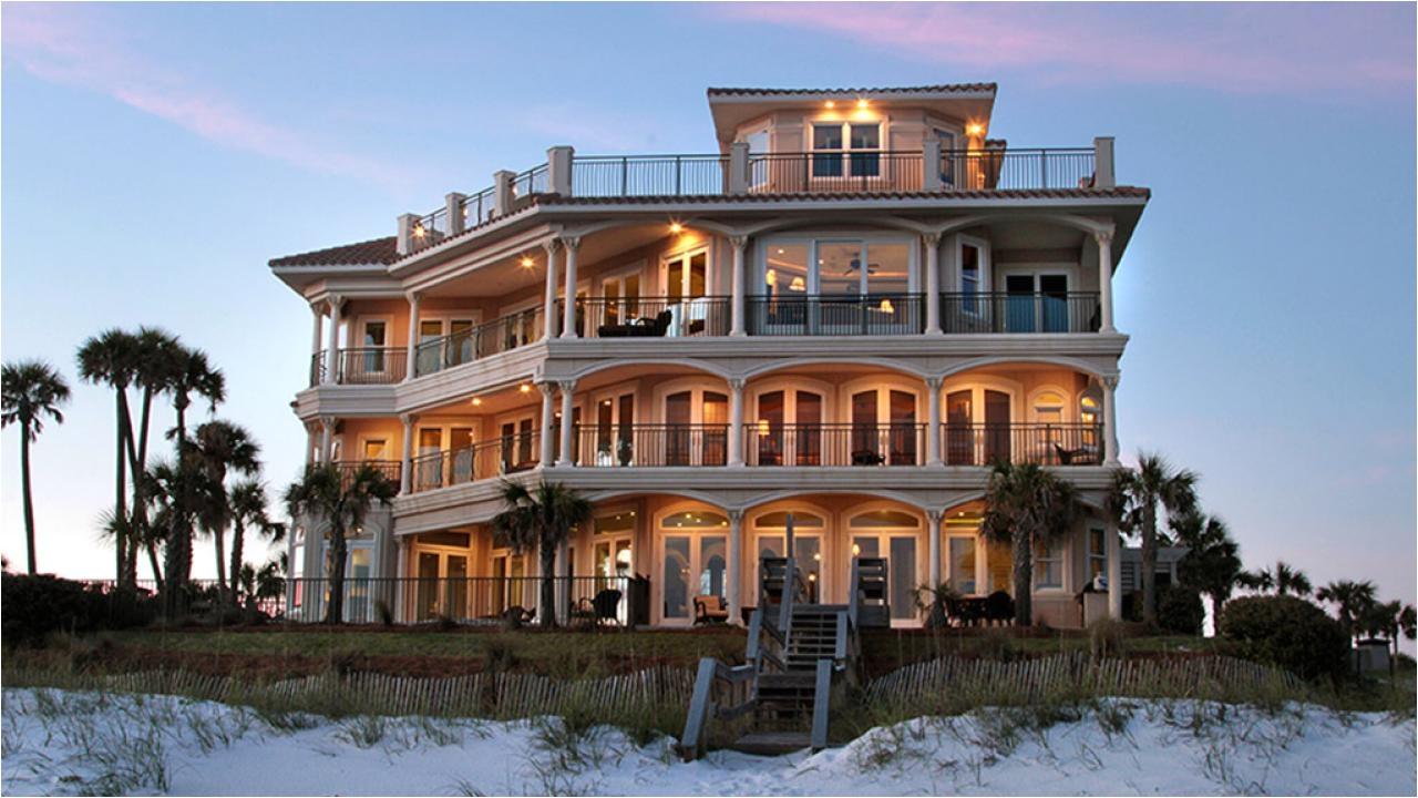 homes for rent in destin florida beachfront modern home