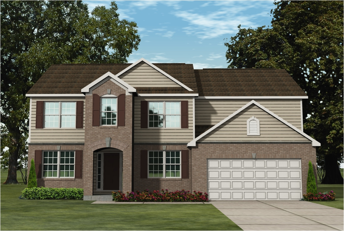 the forest detroit american colonial front entry garage 1100x740