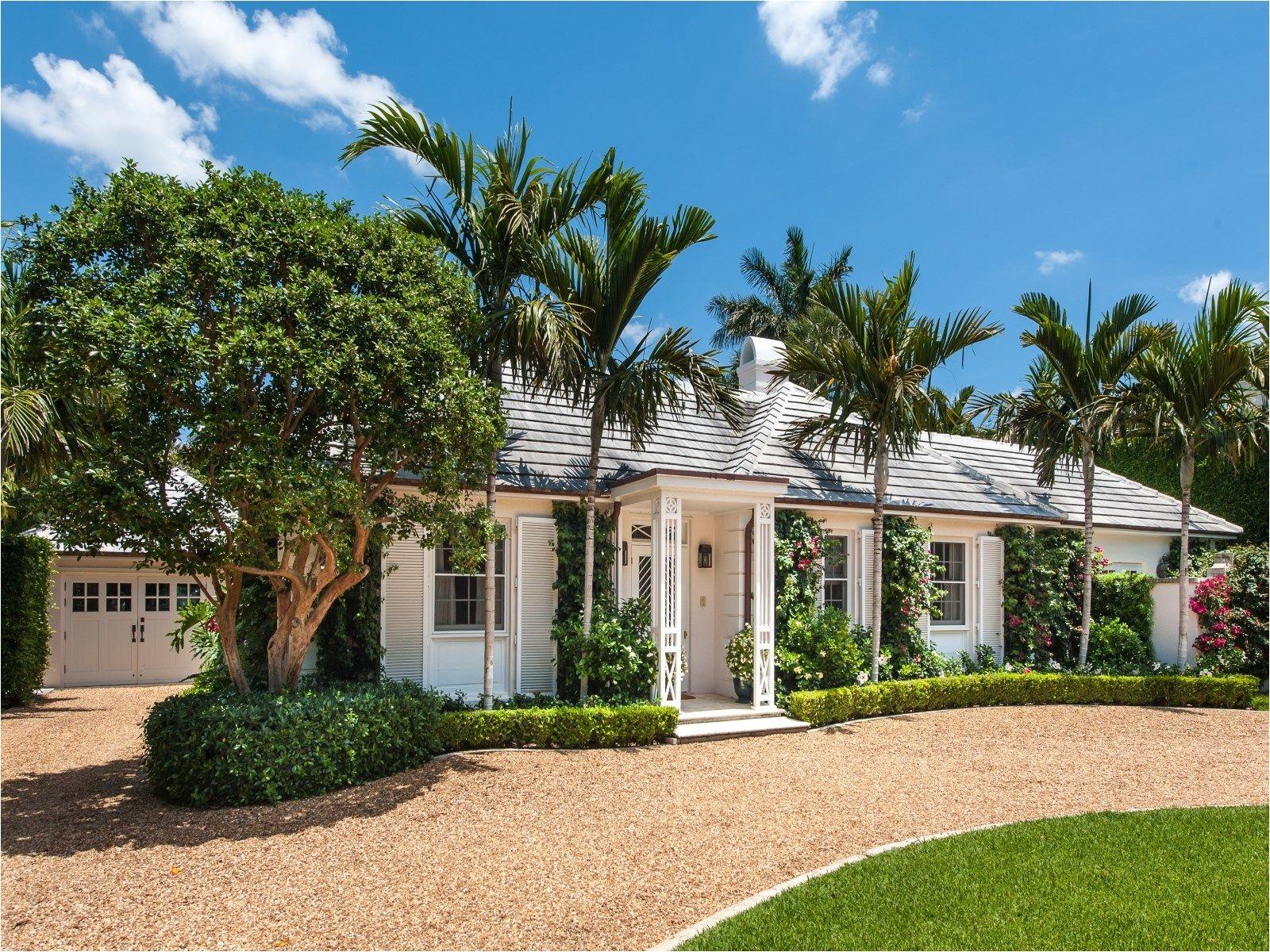 charming one story bermuda on coral lane palm beach fl single family home palm beach real estate