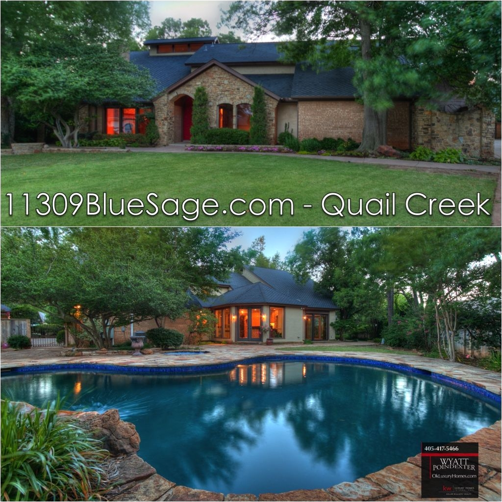 oklahoma real estate luxury homes wyatt poindexter keller williams realty elite 405 417