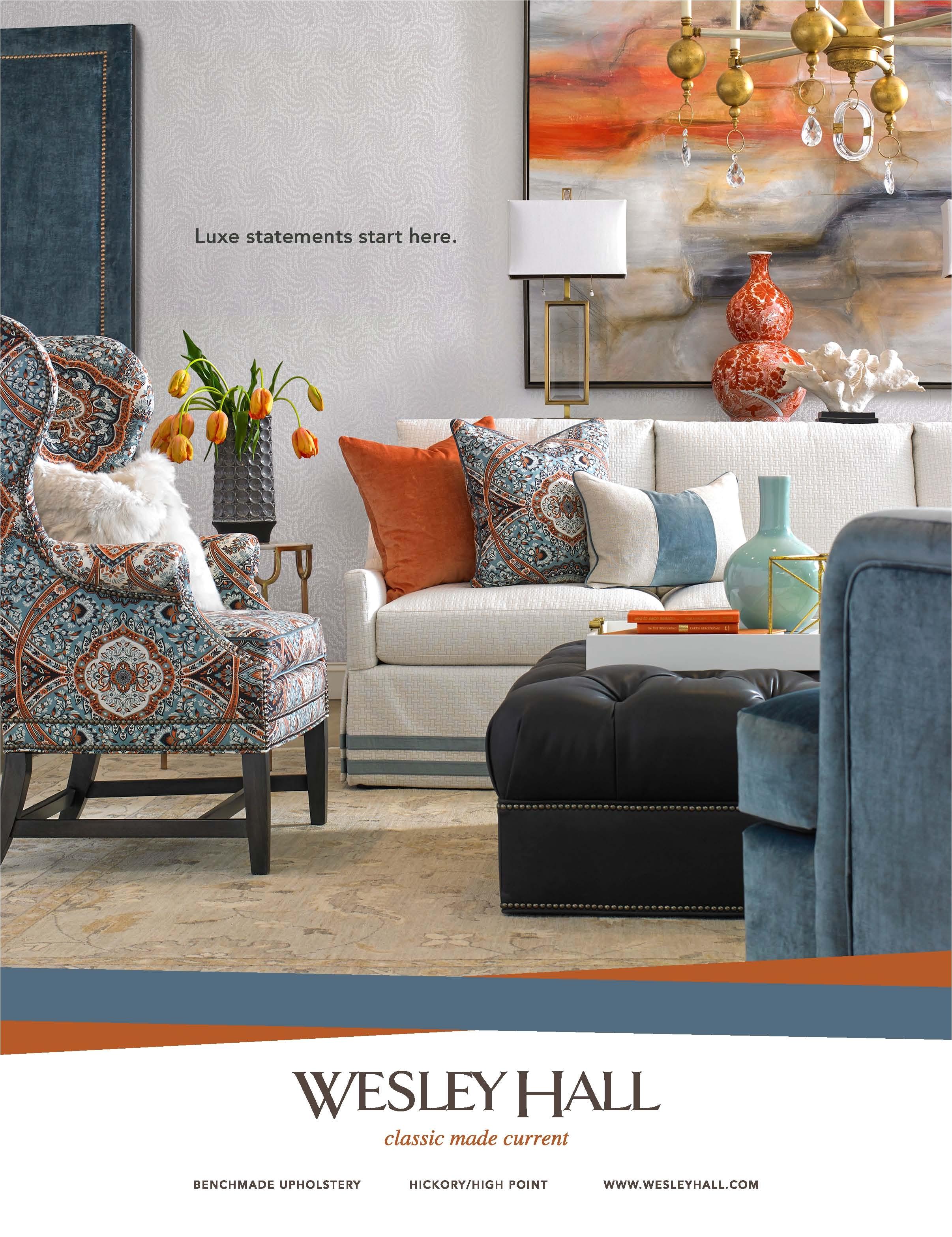 Isenhour Furniture Wesley Hall National Ads