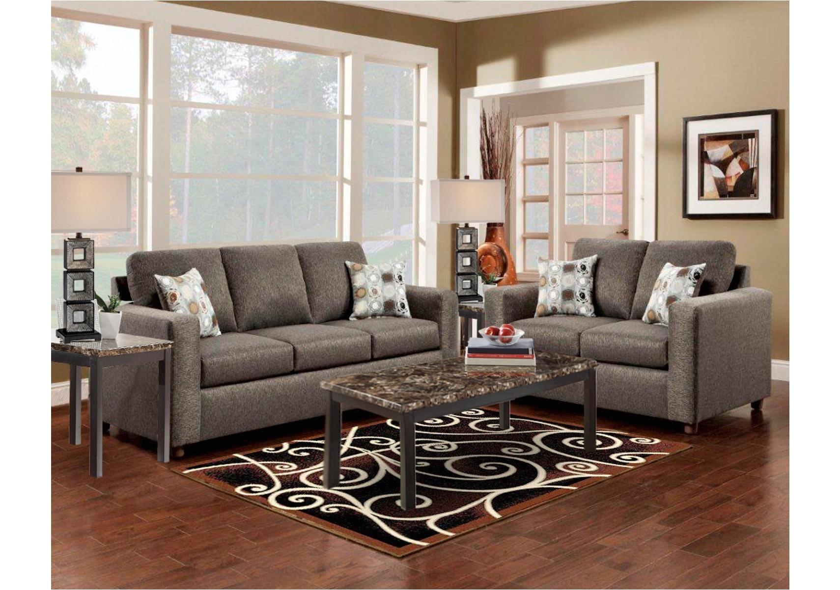 vivid 2 pc living room set