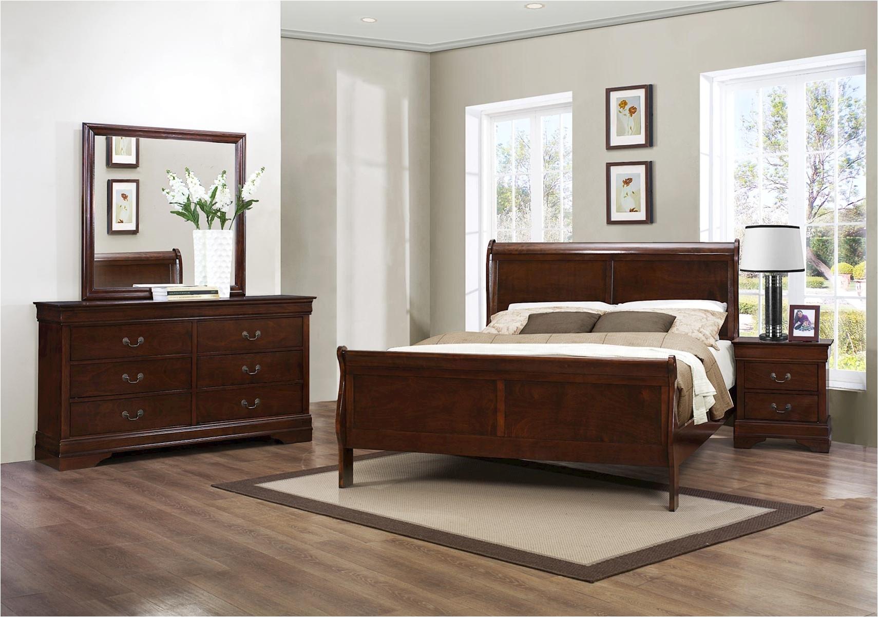 mayville 4 pc queen bedroom set
