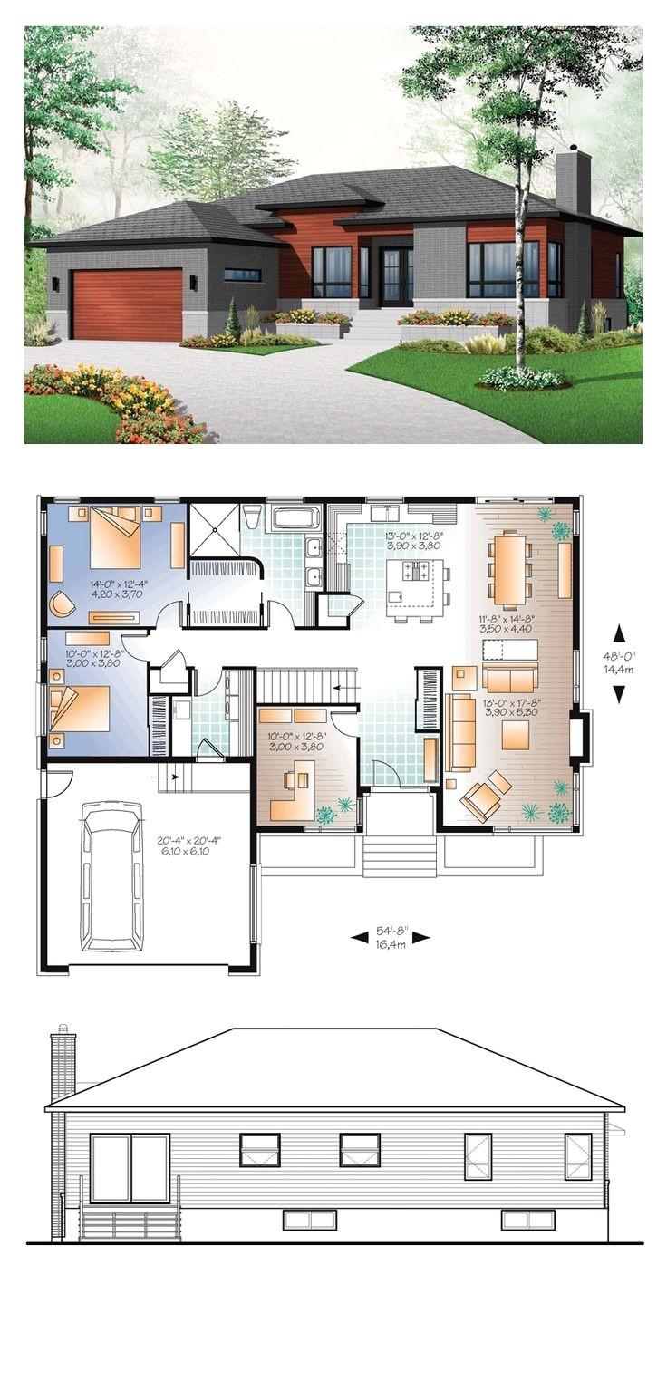 multi family home plans beautiful 65 best modern house plans images on pinterest of multi family