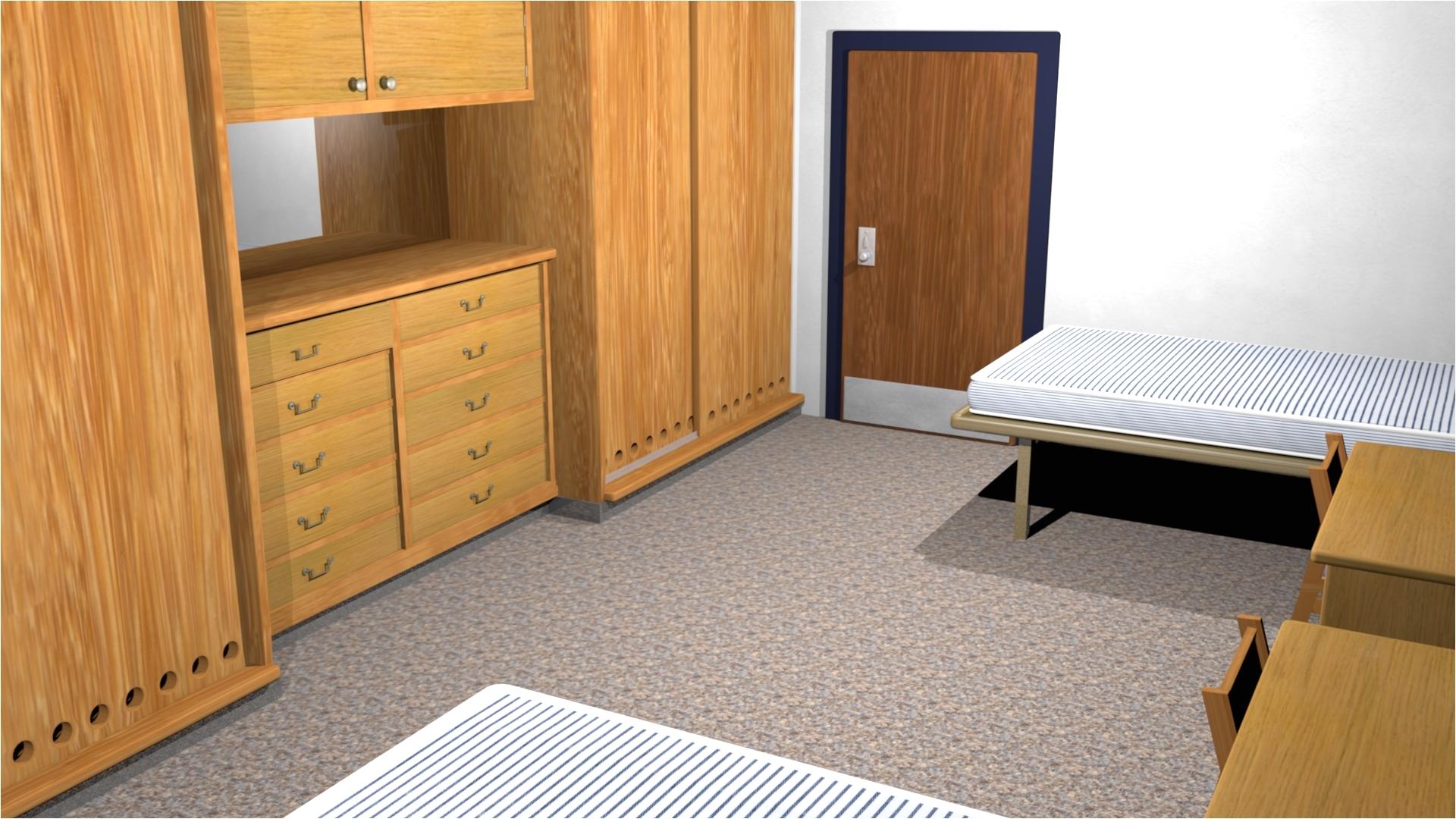 open double room