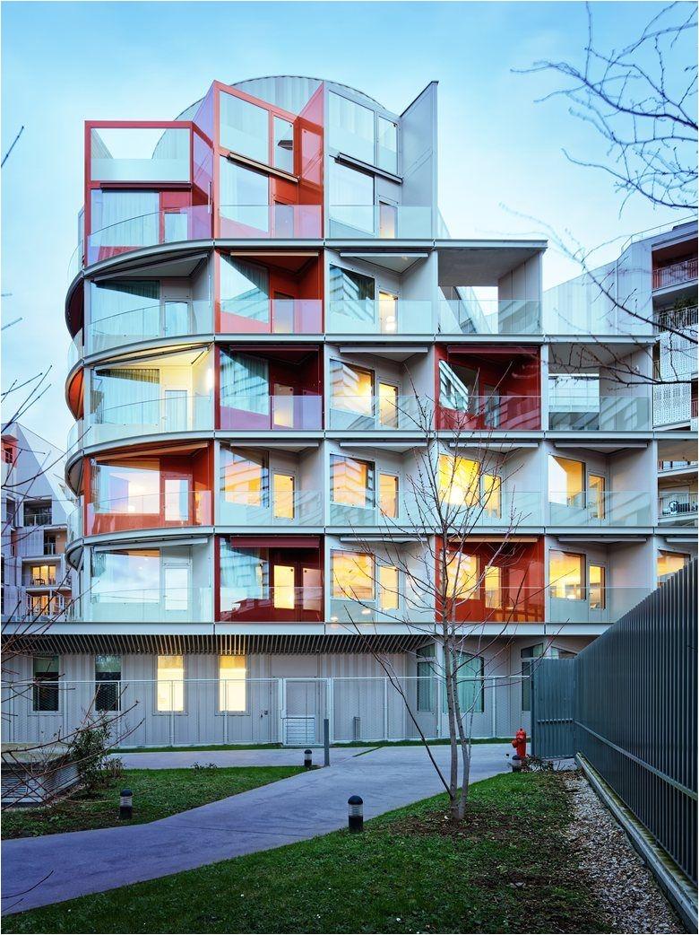 nursing home clichy batignolles ecodistrict in paris picture gallery