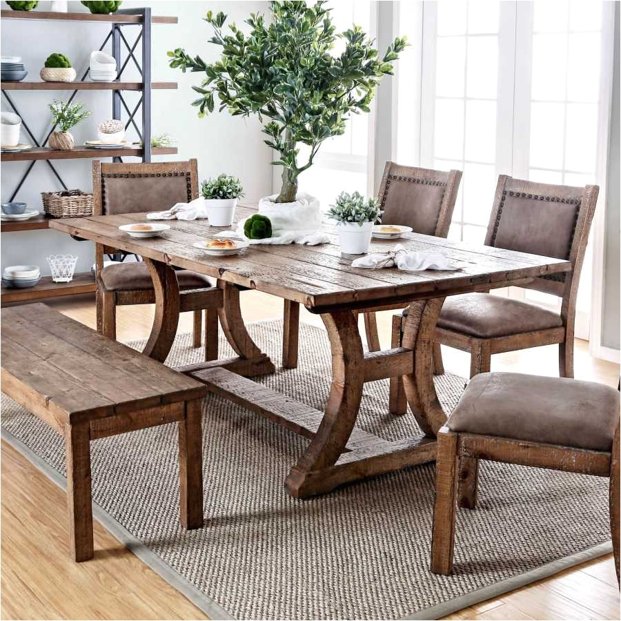 furniture of america matthias industrial rustic pine dining table inspiration of trestle dining room table