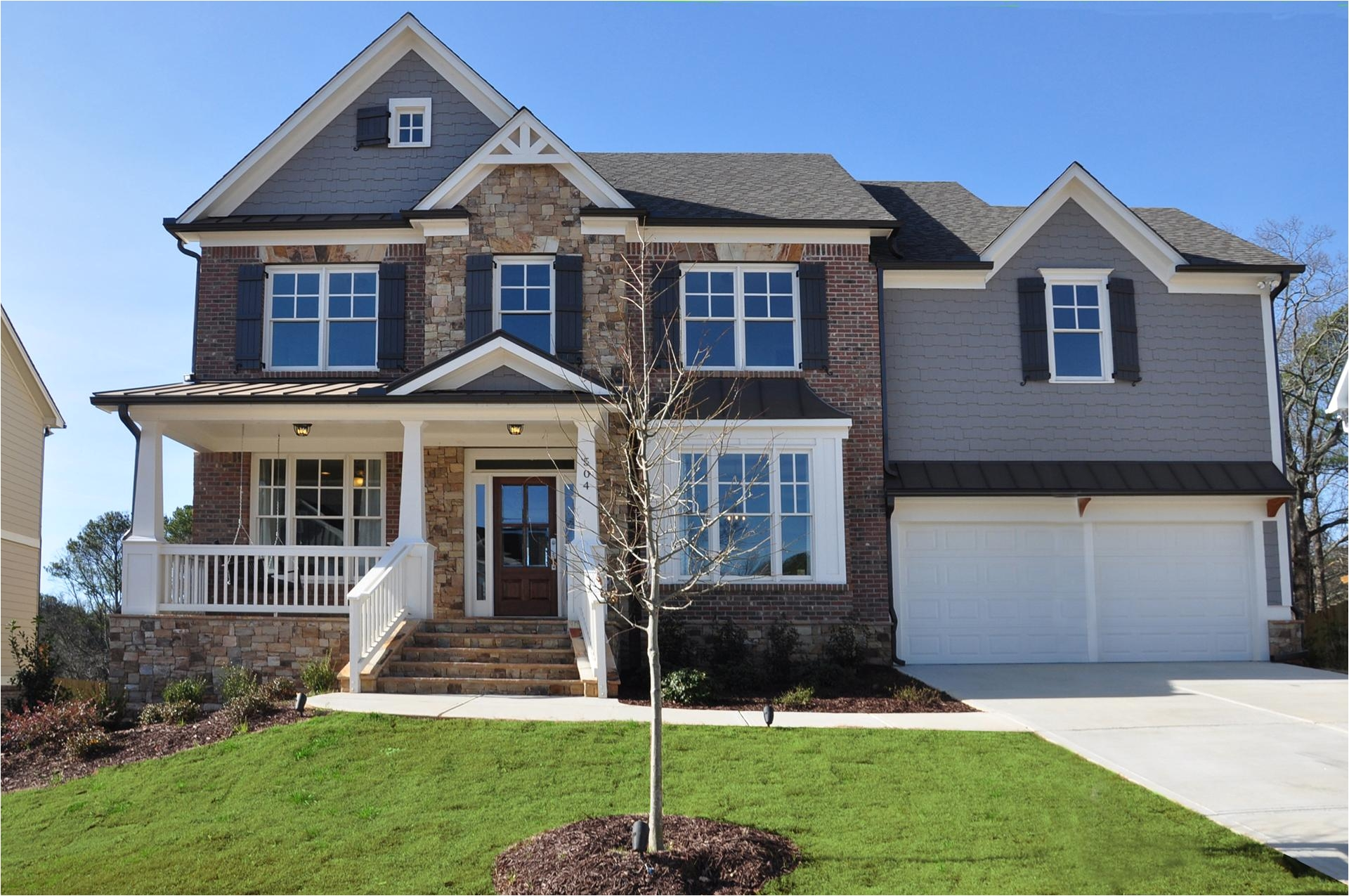 the walk at brookwood in lawrenceville ga new homes floor plans by odwyer homes