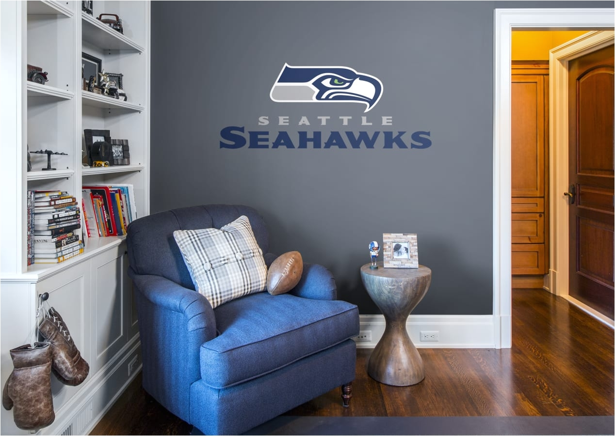 Seahawks Furniture Seattle Seahawks Logo Giant Nfl Transfer Decal
