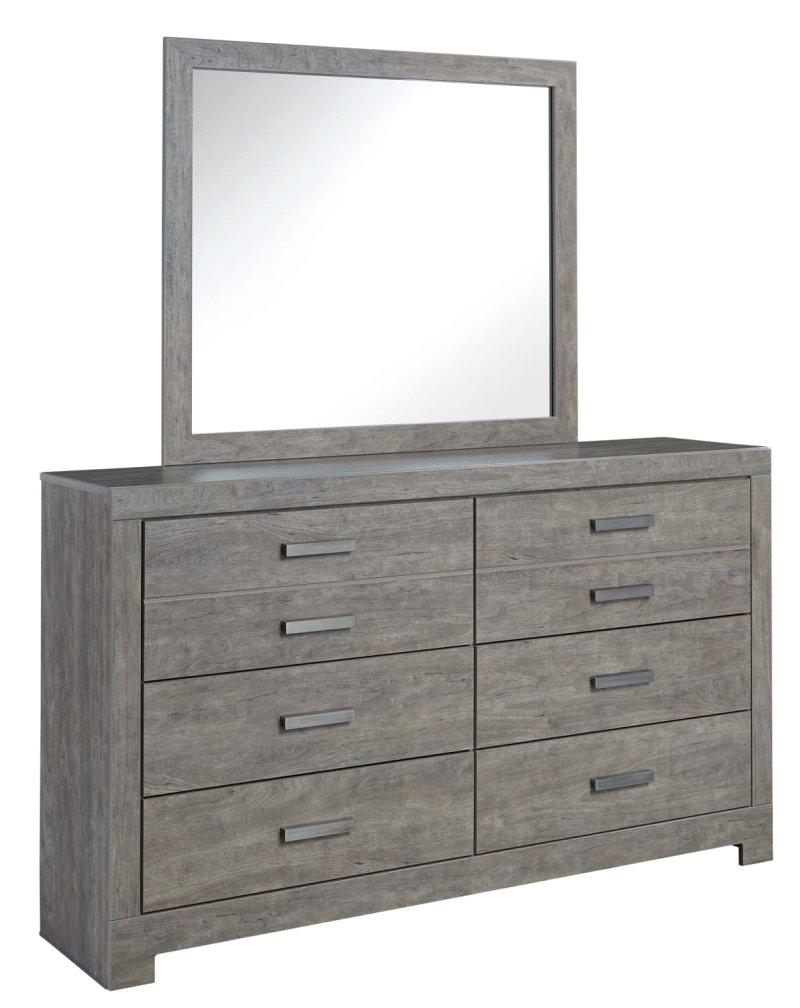 culverbach gray 2 piece bedroom set