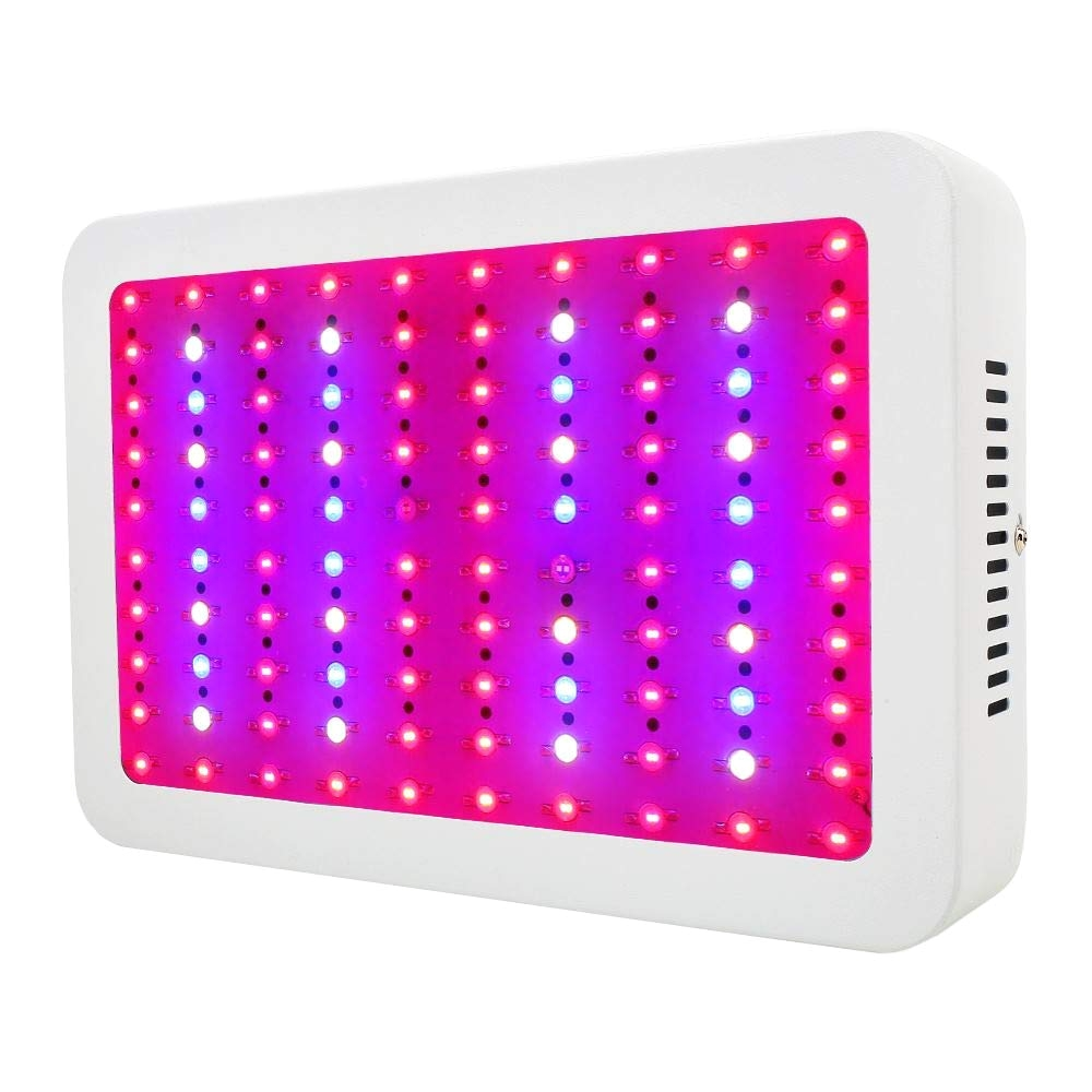 amazon com led grow light 1000w full spectrum plant light for indoor plants veg and flower garden outdoor
