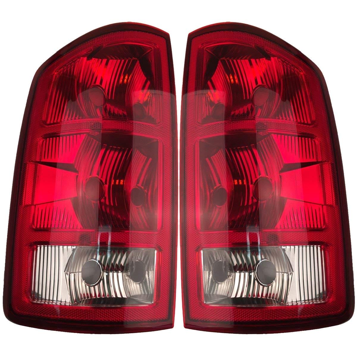 2002 Dodge Ram 1500 Tail Lights Amazon Com 2002 2006 Dodge Ram Pickup Tail Lights 1 Pairdriver and